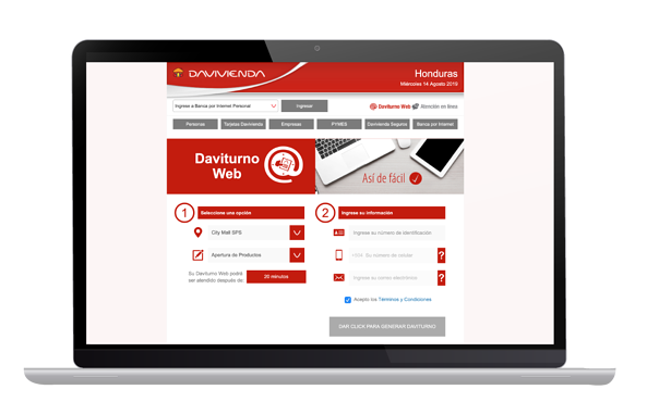 Davivienda_ACFTechnologies_Davivienda_english_reduces_wait_times_to_zero_with_ACF_&_Q-Flow_2021_03